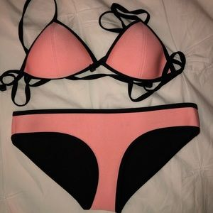 Pink authentic Triangl bikini